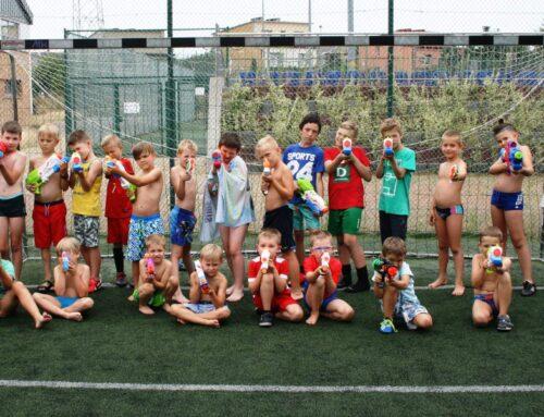 Półkolonie ze szkółką piłkarską KICK OFF Sierpień