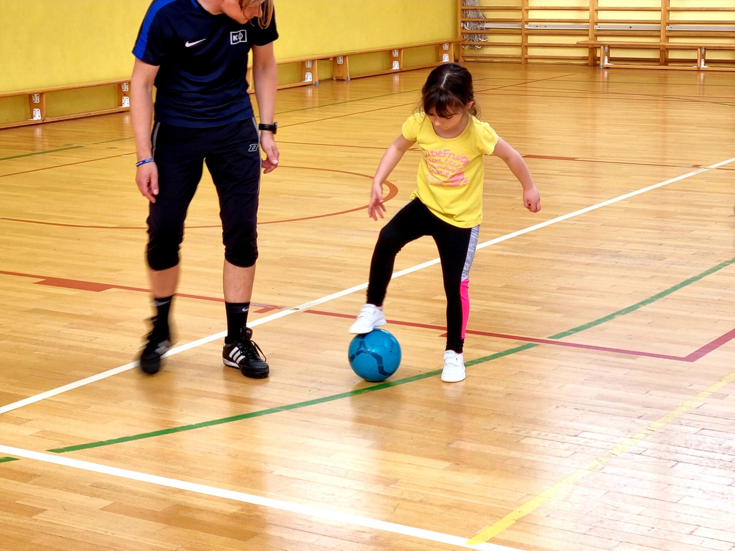 trening dziewczynek